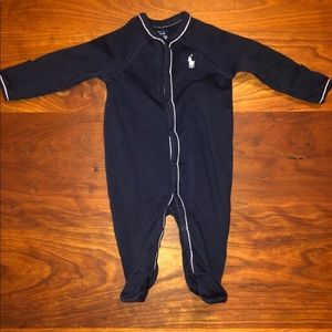 Ralph Lauren Jersey Footed Coverall - 3M - NWOT